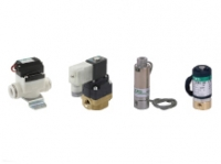 Compact direct acting 2,3 port solenoid valve