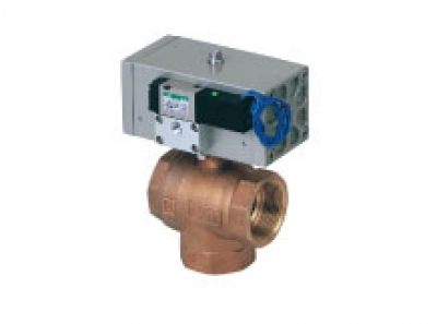 3 port valve with solenoid valve CHG-V_X