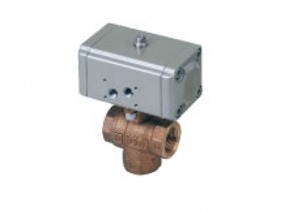 Air operated 3 port valve CHG